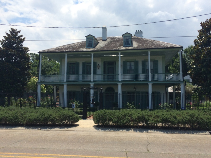 The Sanctuary On Bayou St John Another French Colonial Plantation Style House Hailing From Same Era As Ossorno Photo By Author