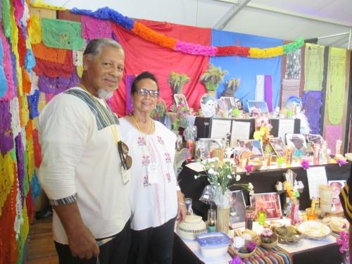 Rose and Natividad Obando