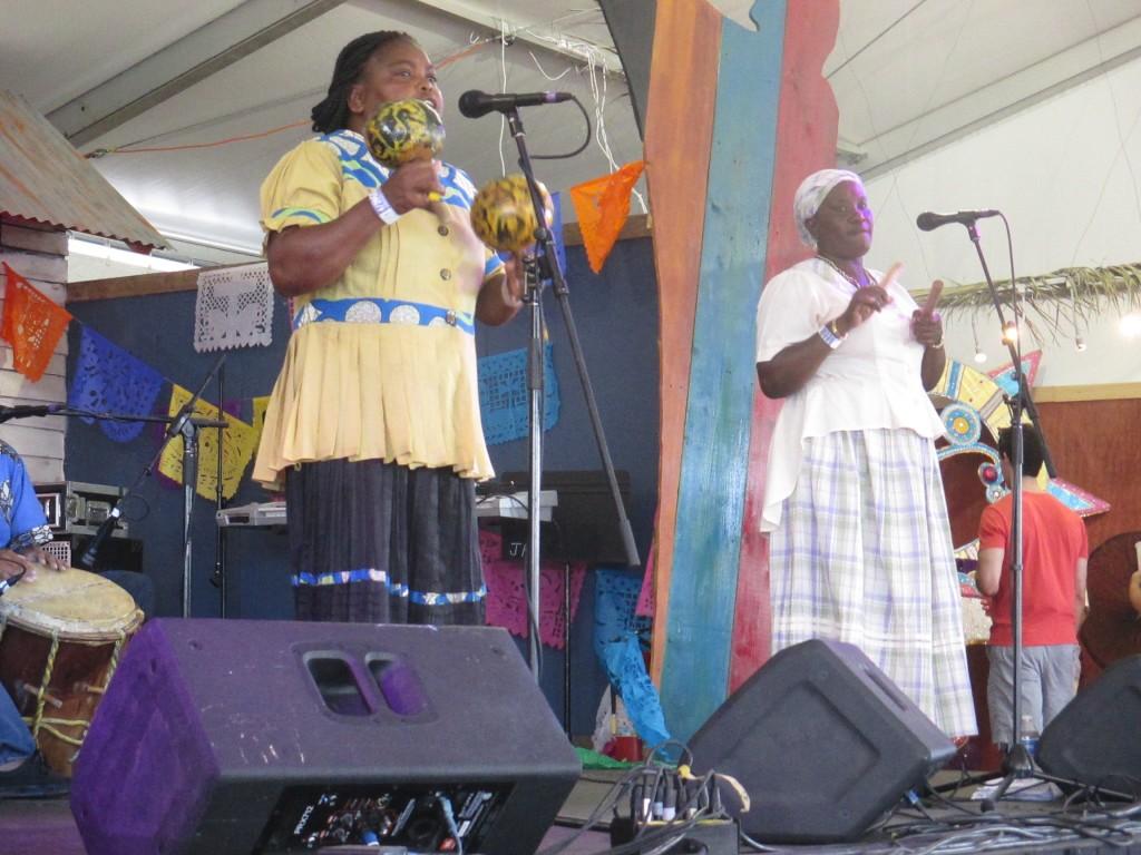 Garifuna singers