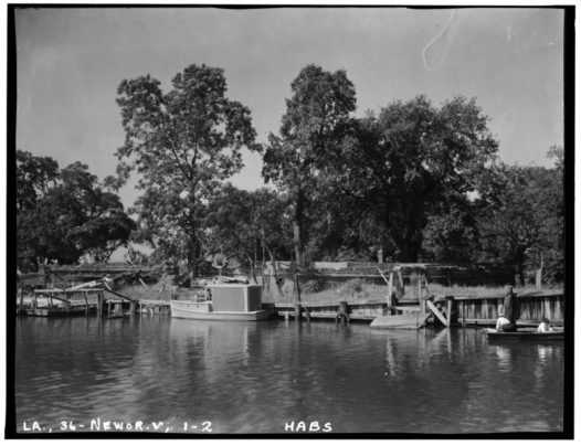 historic_american_buildings_survey_richard_koch_photographer_september_1934_view_of_fort_looking_west_across_bayou_st-_john_-_spanish_fort_bayou_saint_john_at_lake_habs_la36-newor-v1-2-tif