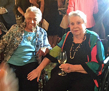 Leah Chase and Ella Brennan, NOLA's restaurant leading ladies (Photo: Renee Peck)