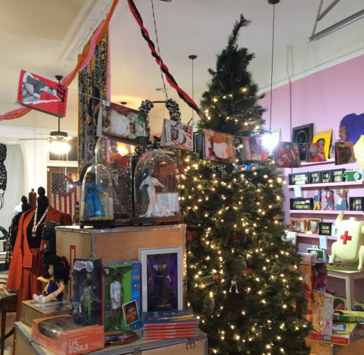 Material Life is an eclectic store in Holy Cross featuring art, books and so much more.