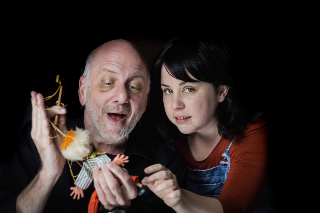 Russian immigrant Igor mentors Grace through puppetry