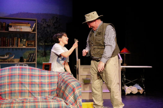 Trenton Gilmore and Kenneth Faherty star in 'On Golden Pond.' Photo: Justin Redman