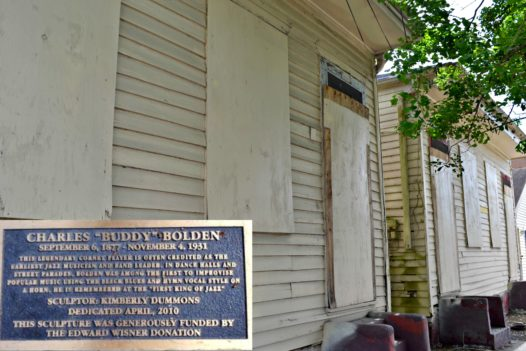 Charles Buddy Bolden's House 2309 First Street (Photo by: Kelley Crawford)
